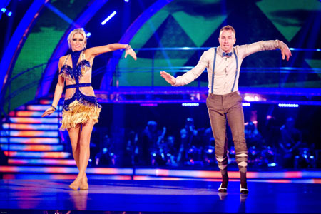 Strictly Come Dancing 2012 Denise Van Outen James Jordan