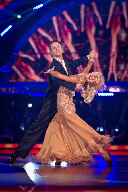 BBC Strictly Come Dancing 2012 Michael Vaughan Natalie Lowe