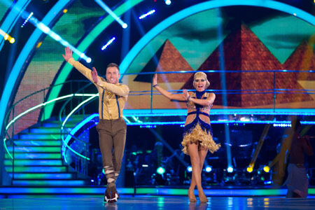 Strictly Come Dancing 2012 James Jordan Denise Van Outen