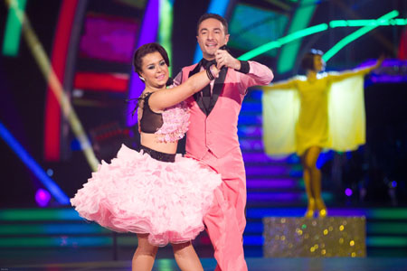 Strictly Come Dancing 2012 Dani Harmer Vincent Simone