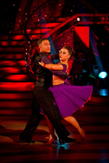 Strictly Come Dancing Final Vincent Simone, Dani Harmer