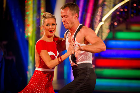 Denise Van Outen James Jordan Strictly Come Dancing 2012 Final