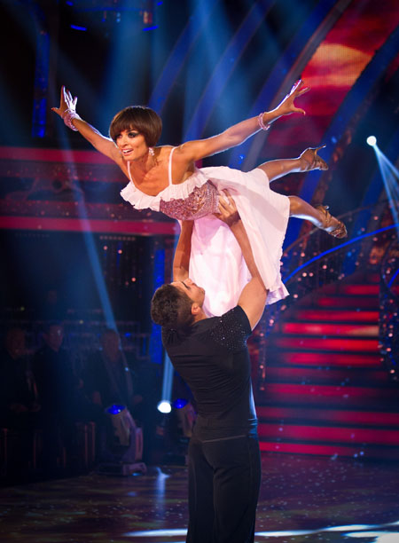 Louis Smith Flavia Cacace Strictly Come Dancing Final 2012 (c) BBC
