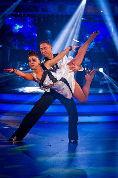Dani Harmer Vincent Simone Strictly Come Dancing 2012 Final