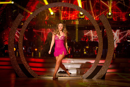 Kimberley Walsh Strictly Come Dancing Final