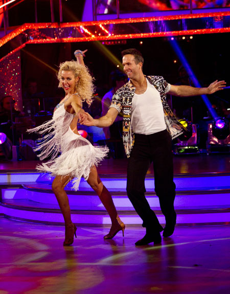 Strictly Come Dancing 2012 Michael Vaughan Natalie Lowe