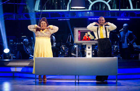 Strictly Come Dancing 2012 Robin Windsor Lisa Riley