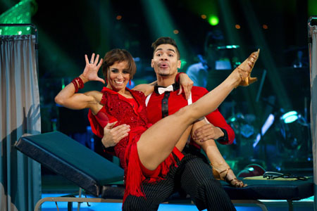 Strictly Come Dancing 2012 Flavia Cacace Louis Smith