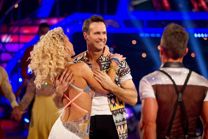 Natalie Lowe Michael Vaughan Leave Strictly Come Dancing 2012
