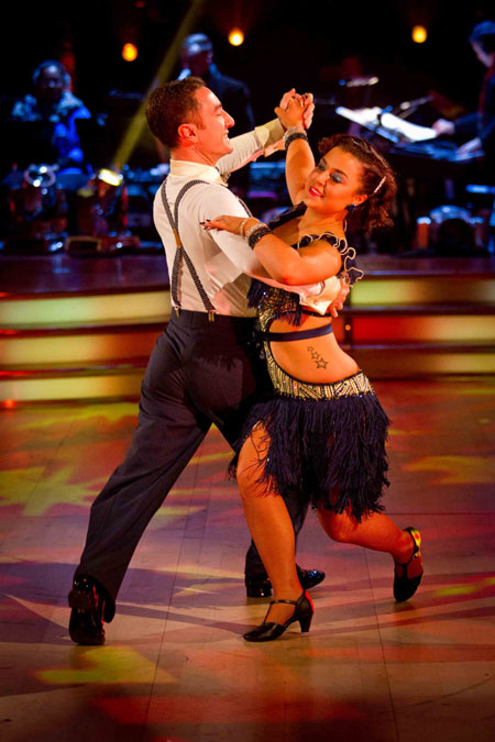 Strictly Come Dancing 2012 Week 10 Vincent Simone Dani Harmer