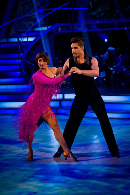 Strictly Come Dancing 2012 Week 10 Flavia Cacace Louis Smith