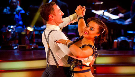Strictly Come Dancing 2012 Week 10 Vincent Simone and Dani Harmer