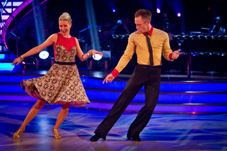 Strictly Come Dancing 2012 Week 10 Dance off Denise Van Outen and James Jordan