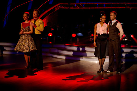 Strictly Come Dancing 2012 Nicky Byrne and Denise Van Outen in dance off week 10