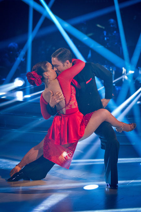 Dani Harmer Vincent Simone Strictly Come Dancing 2012