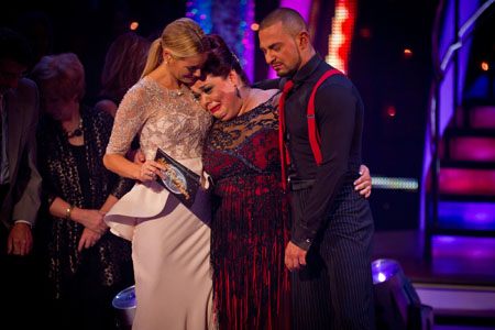 Strictly Come Dancing 2012 Lisa Riley Exits In Week 11