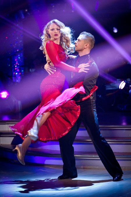Kimberley Walsh Pasha Kovalev - BBC Strictly Come Dancing Week 11