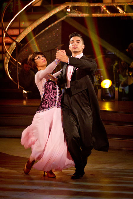 Flavia Cacace Louis Smith - BBC Strictly Come Dancing Week 11
