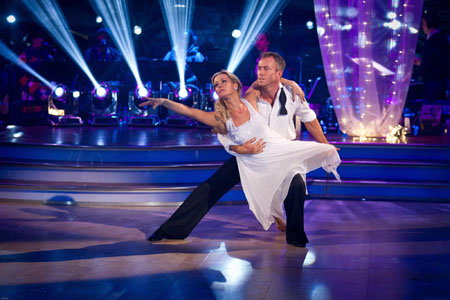 Denise Van Outen James Jordan - BBC Strictly Come Dancing Week 11