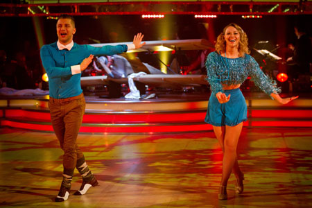 Pasha Kovalev Kimberley Walsh - BBC Strictly Come Dancing 2012 Week 11