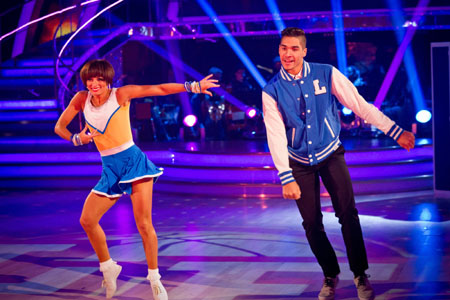 Strictly Come Dancing 2012 Week 11 Flavia Cacace Louis Smith