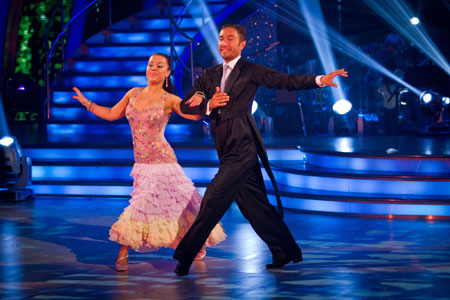 Strictly Come Dancing 2012 Week 11 Dani Harmer Vincent Simone