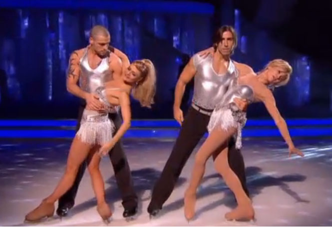 Anthea Turner Shayne Ward Dancing On Ice