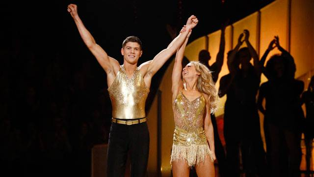 Luke Campbell and Jenna Smith Dancing On Ice 2013