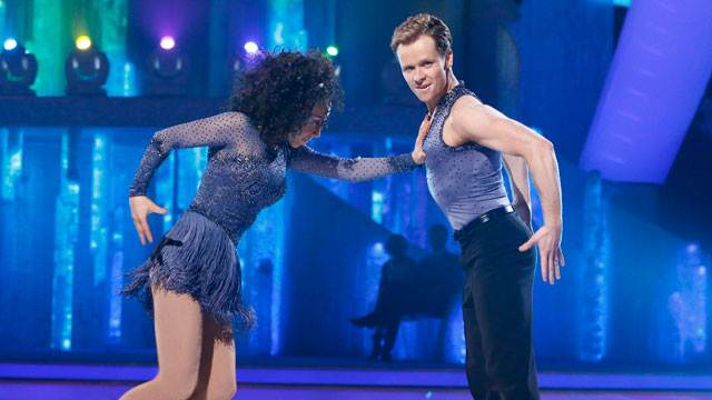 Oona King and Mark Henretty Dancing On Ice 2013