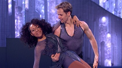 Oona King and Mark Henretty Leave Dancing On Ice 2013