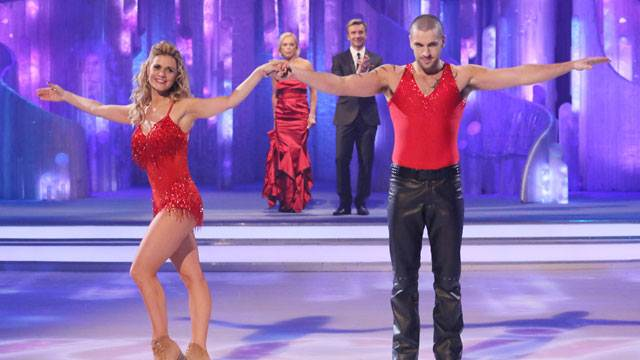 Shayne Ward Maria Filippov Dancing On Ice 2013 (image courtesy ITV)