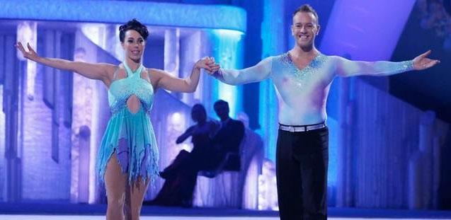 Beth Tweddle and Daniel Whiston Dancing In Ice