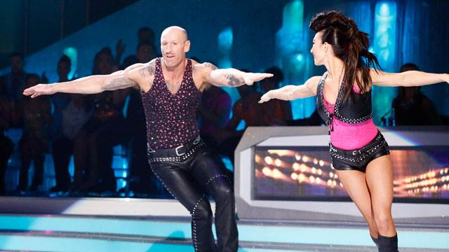 Gareth Thomas Robin Johnstone Dancing On Ice 2013