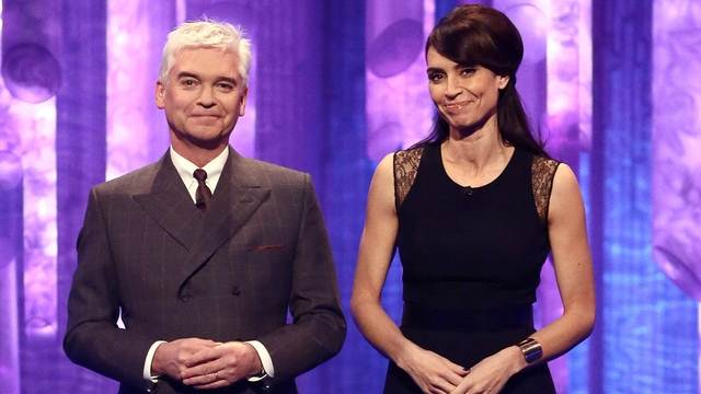 Christine Bleakley and Phillip Schofield in week 8 of Dancing On Ice