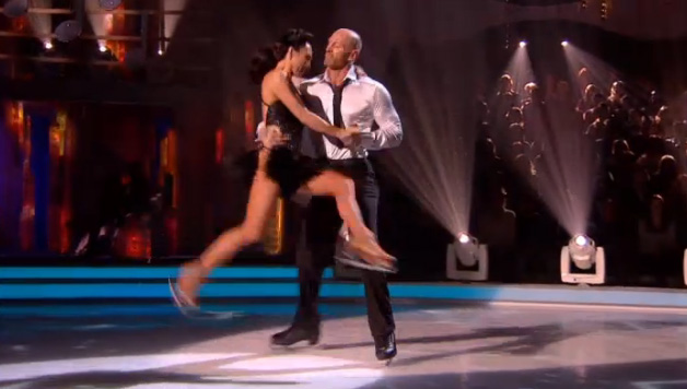 Gareth Thomas and Robin Johnstone perform in Week 5 of Dancing On Ice