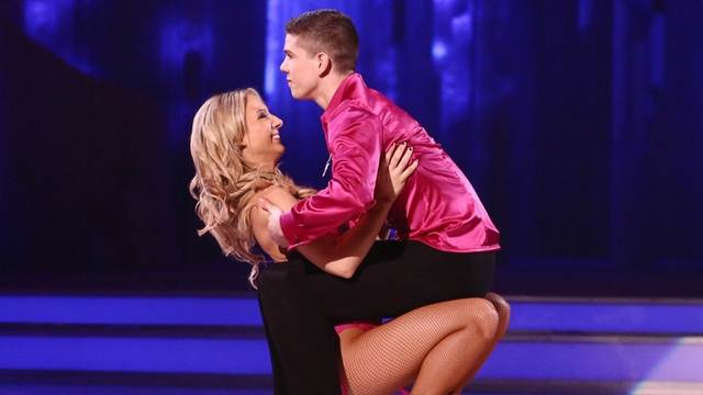 Luke Campbell and Jenna Smith perform in week 7 of Dancing On Ice