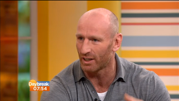 Gareth Thomas Talks About His Dancing In Ice Experiences on ITVs Daybreak
