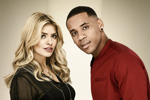 Holly Willoughby, Reggie Yates Co-presenters of The Voice 2