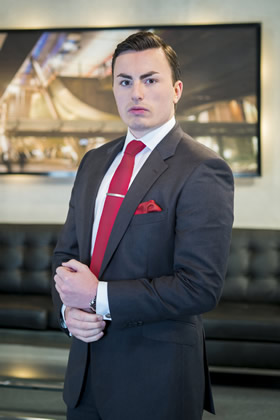 Alex Mills appears in The Apprentice 2013