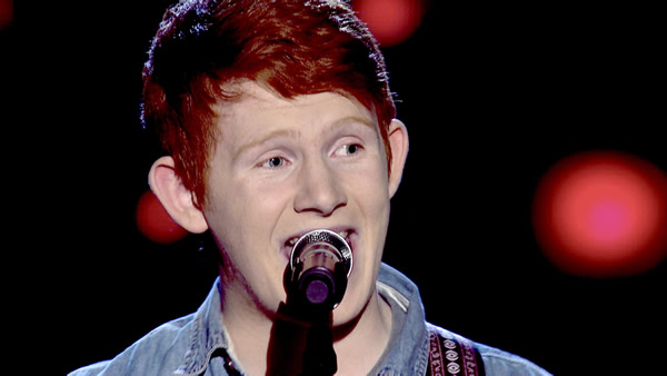 Conor Scott performs on The Voice 2