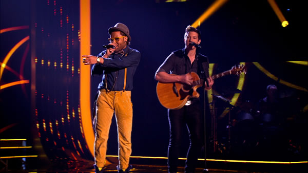 De Vide perform on The Voice 2013