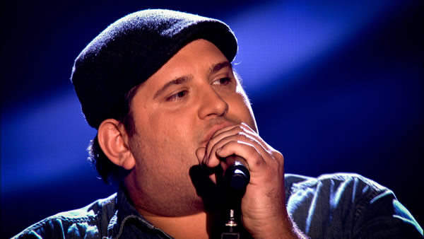 Jamie Bruce performs on The Voice 2013