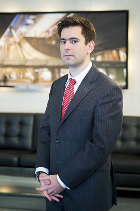 Jason Leech appears in The Apprentice 2013