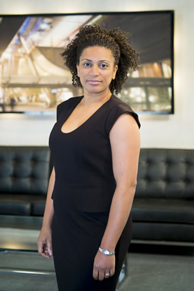 Jaz Ampaw-Farr appears in The Apprentice 2013