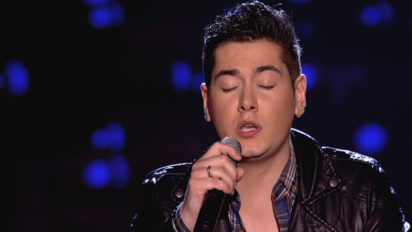 Karl Michael performs on The Voice 2013