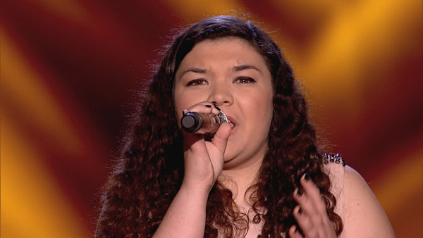 Laura Prescott performs on The Voice 2013