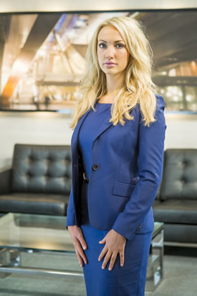 Leah Totton appears in The Apprentice 2013