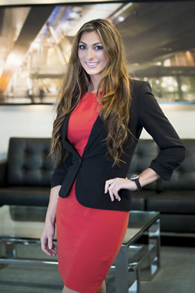 Luisa Zissman appears in The Apprentice 2013