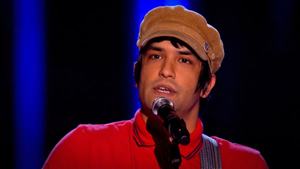 Nadeem Leigh performs on The Voice 2