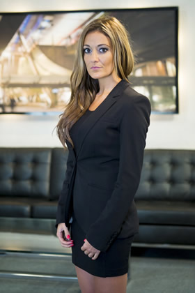 Natalie Panayi appears in The Apprentice 2013